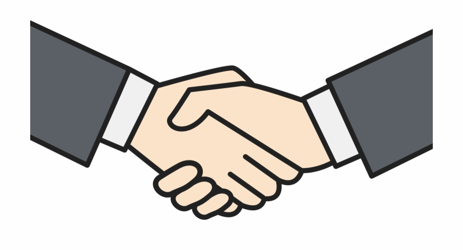 banner royalty free library Png shaking hands . Handshake clipart.
