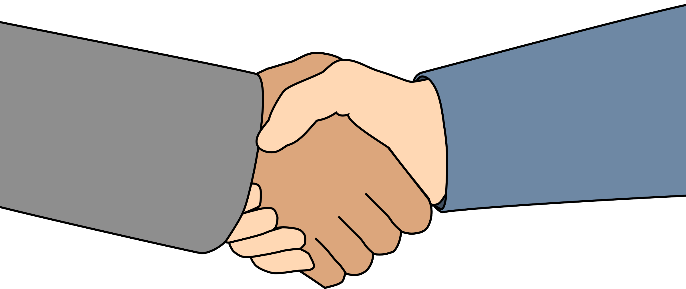 clipart library library Big image png. Handshake clipart.