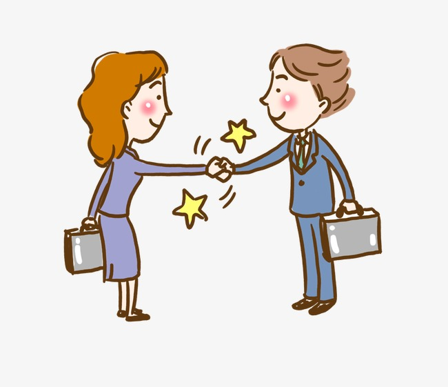 free Handshake clipart greeting. People png image and