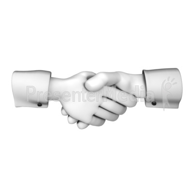 clipart library download Hands with presentation great. Handshake clipart greeting