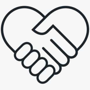 svg Handshake clipart humanitarian. What we value icon