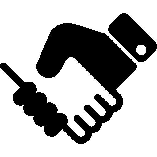 svg Handshake clipart humanitarian. Shake hand icon similar