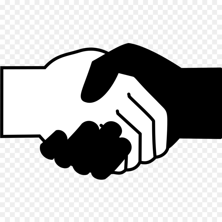 svg library library Handshake clipart jpeg. Computer icons black and.