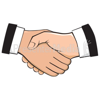 clip library Professional pencil and in. Handshake clipart presentation introduction