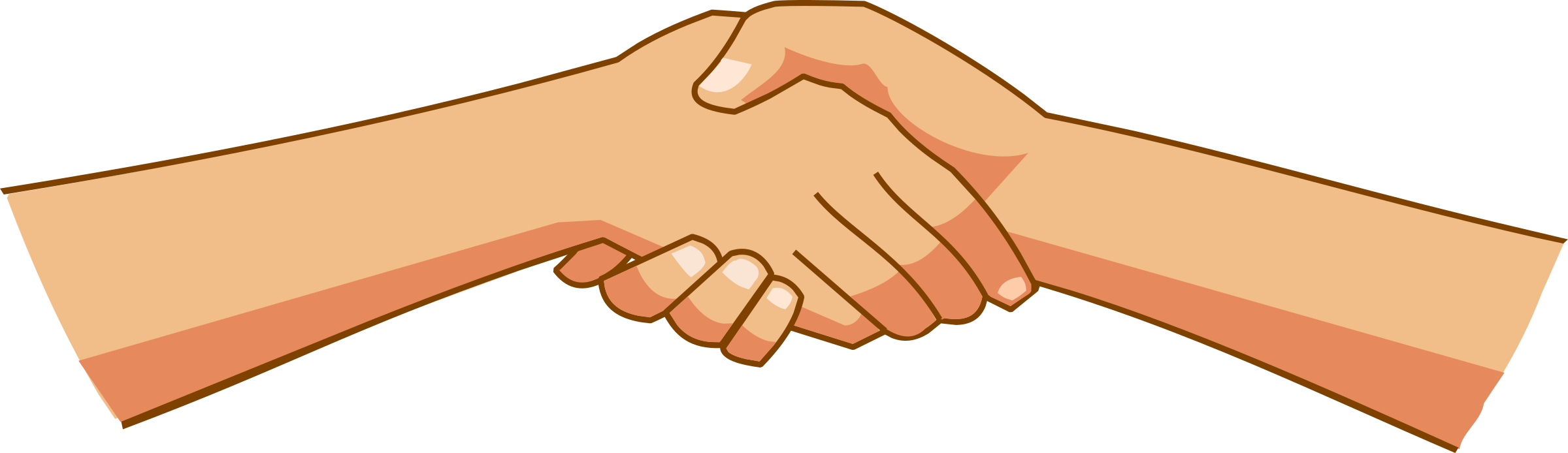 picture black and white stock Handshake clipart shake hand. Shaking hands big image