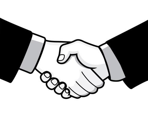 royalty free download Hands clip art business. Handshake clipart shake hand