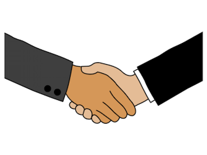 graphic download Shaking hands or the. Handshake clipart shake hand