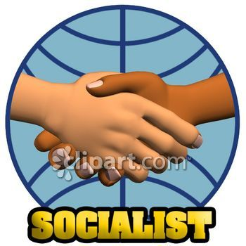 jpg library stock Handshake clipart socialist. Com school edition demo