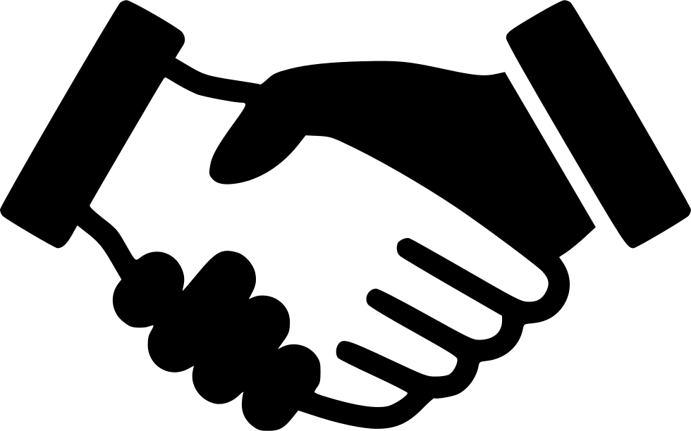 graphic library Trade clipart. Handshake svg png icon