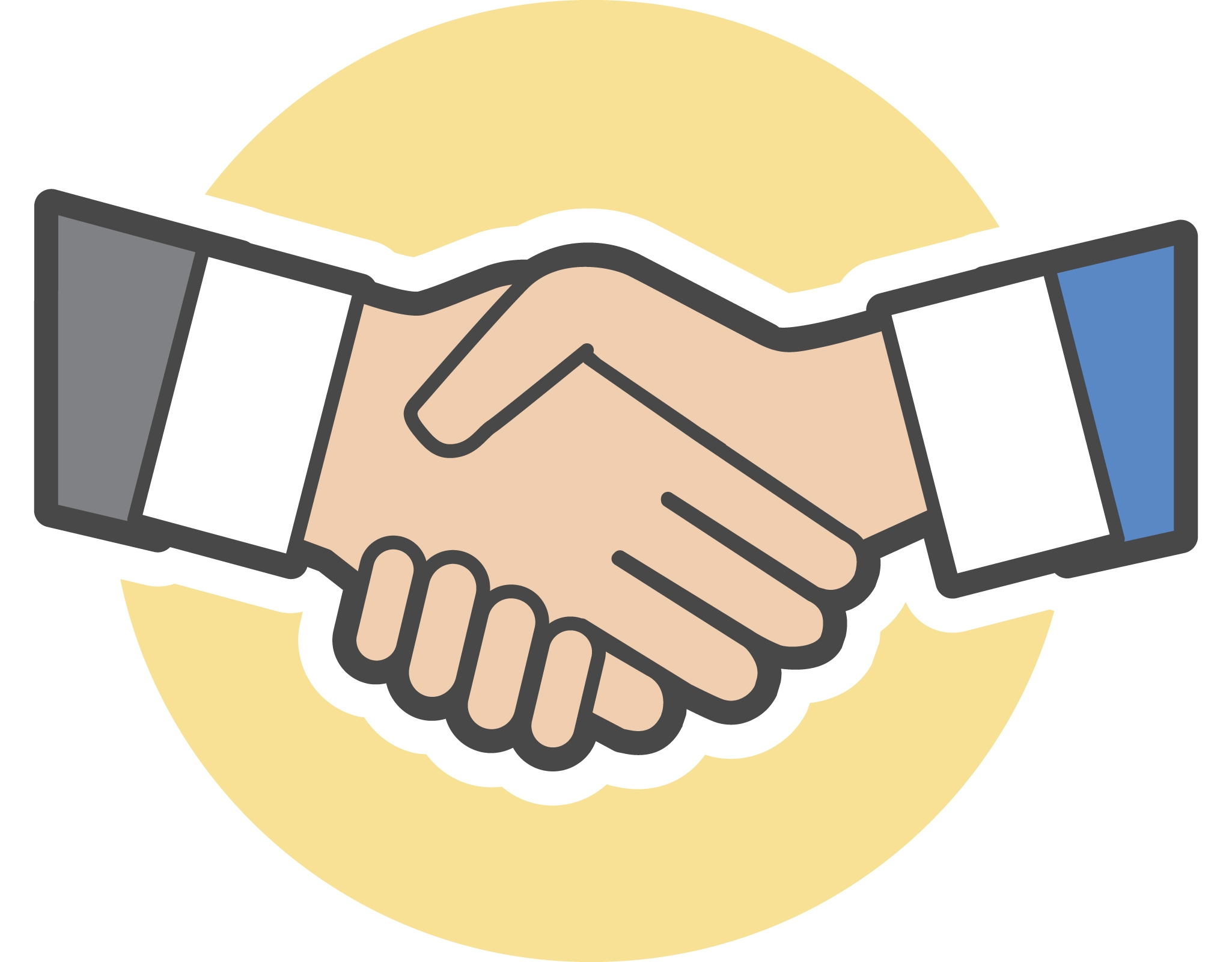 clip art library library Handshake clipart team. Transparent free for