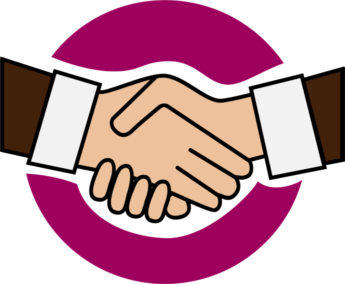 jpg royalty free download Handshake clipart team. Cilpart pretentious a icon