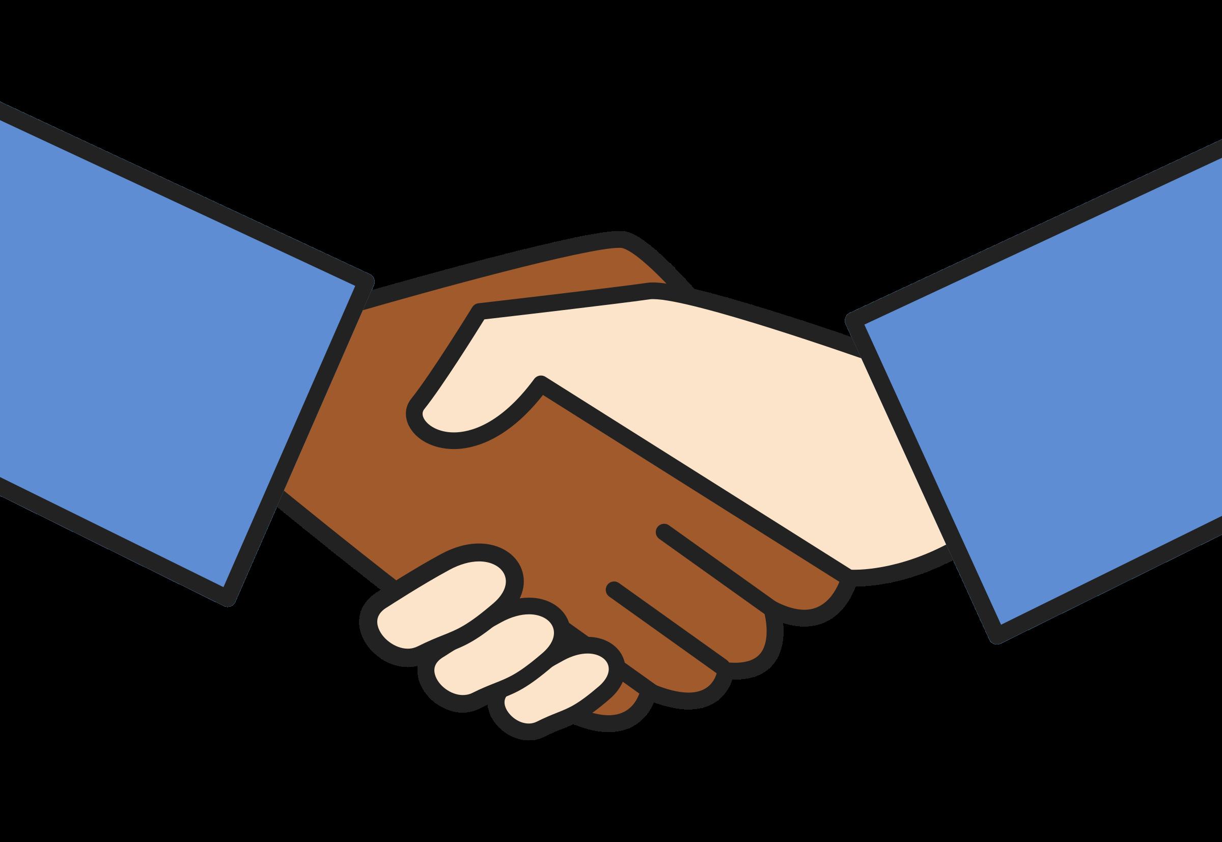 jpg royalty free download Cilpart wondrous ideas worker. Handshake clipart team