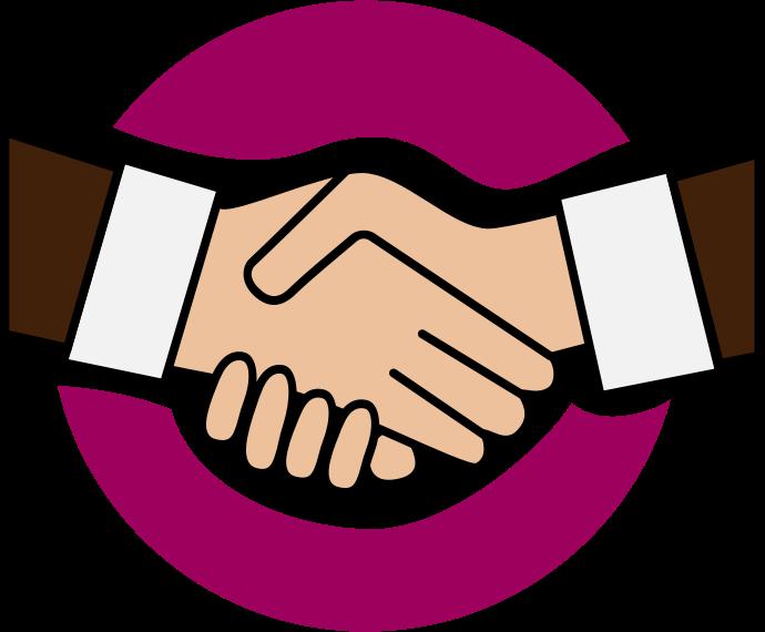 image The top best blogs. Handshake clipart transparent background