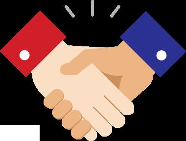 image free stock Handshake clipart welcome. Carrier representation miaa insurance