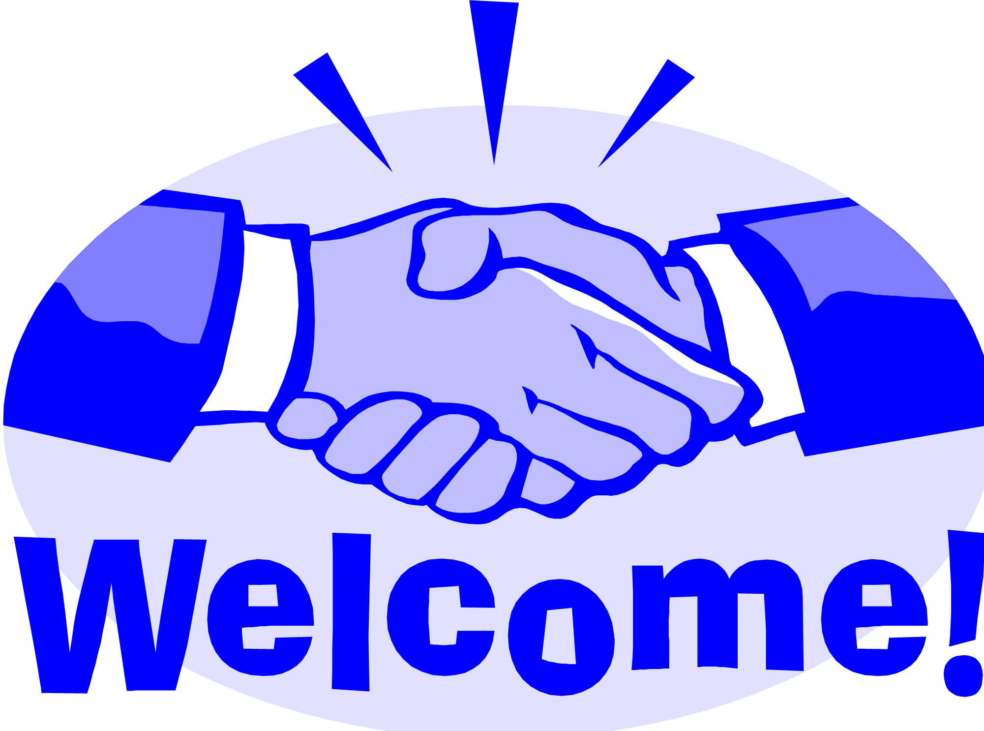 picture freeuse Image share on facebook. Handshake clipart welcome