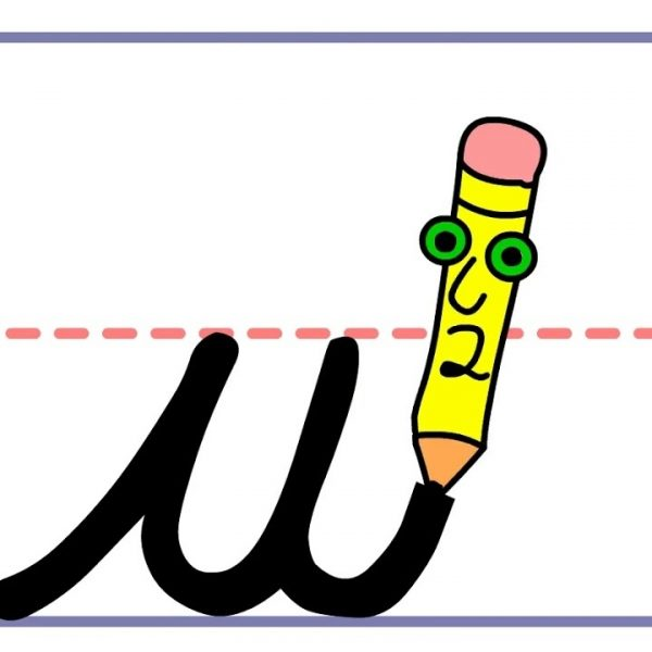 banner free stock Pencil pete s cursive. Handwriting clipart.