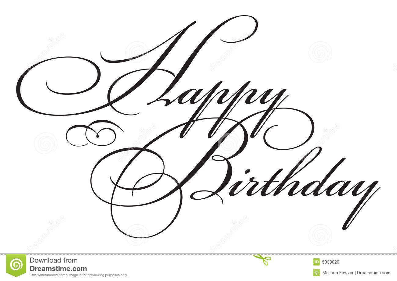jpg free library Elegant birthday clipartfest paper. Handwriting clipart happy