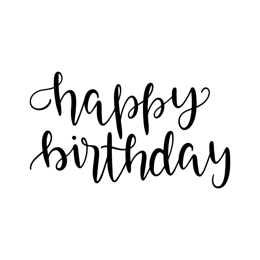 image free stock Handwriting clipart happy. The best birthday memes