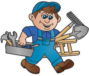svg royalty free library Handyman clipart. Free cliparts download clip