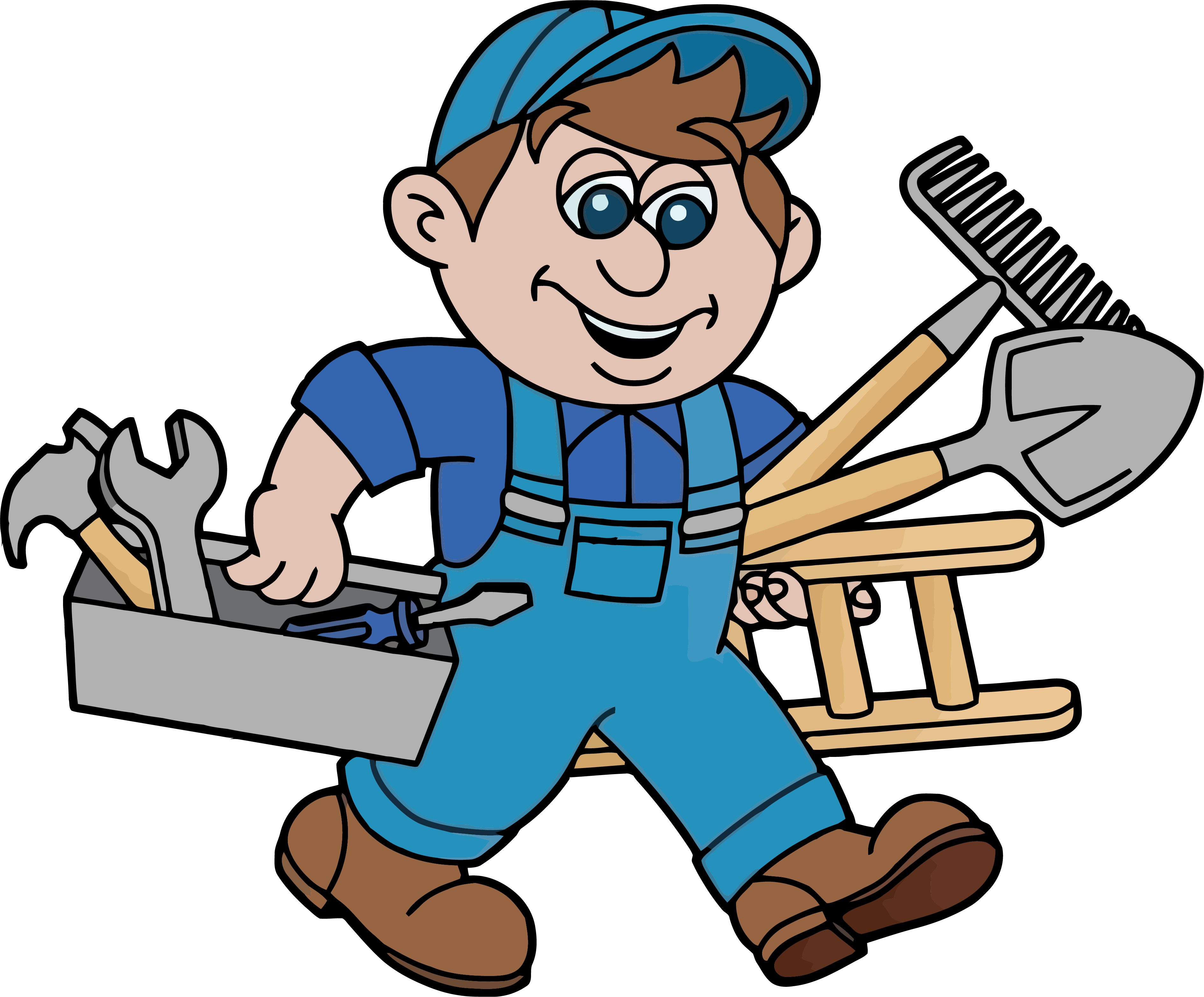 png transparent Handyman clipart. Glasgow services advertising home