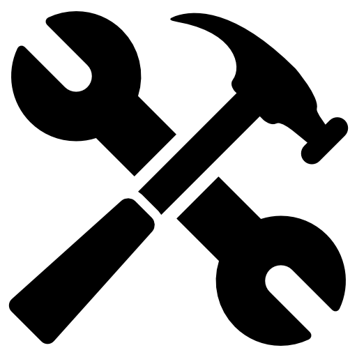svg black and white library Tools free other icons. Handyman clipart contractor tool