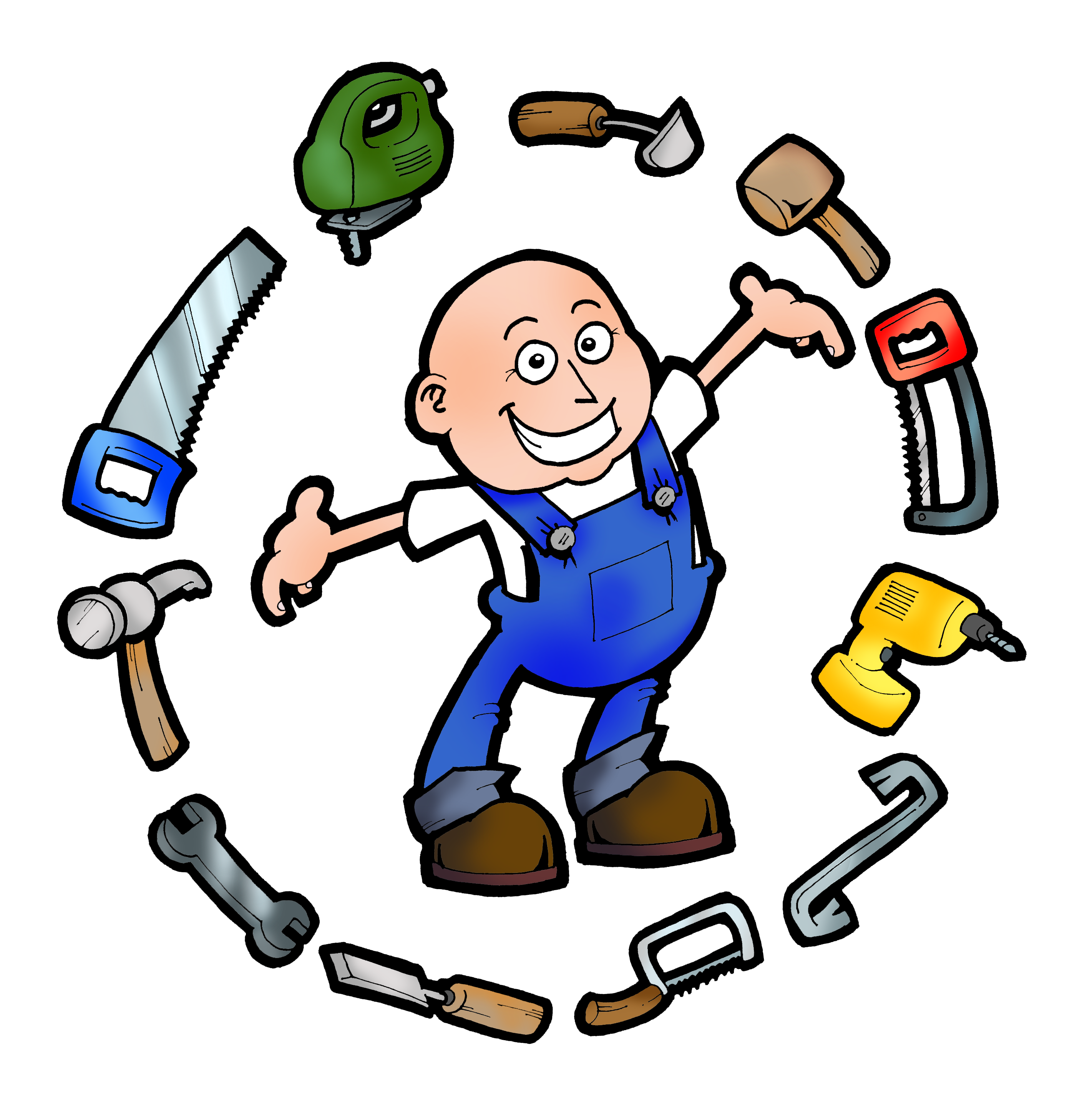 vector stock Free cliparts download clip. Handyman clipart