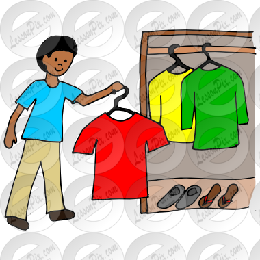 vector library library Hang Clothes Picture for Classroom