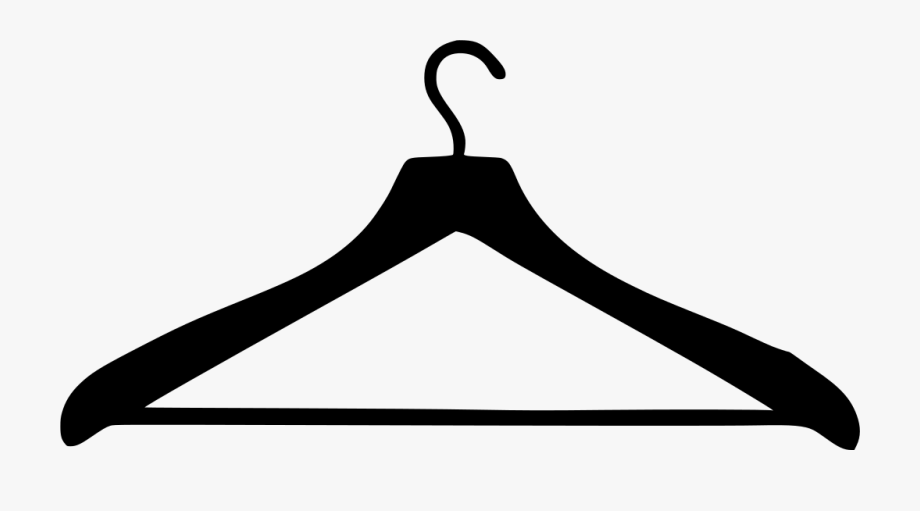 clip black and white Info clothing png free. Hanger clipart.
