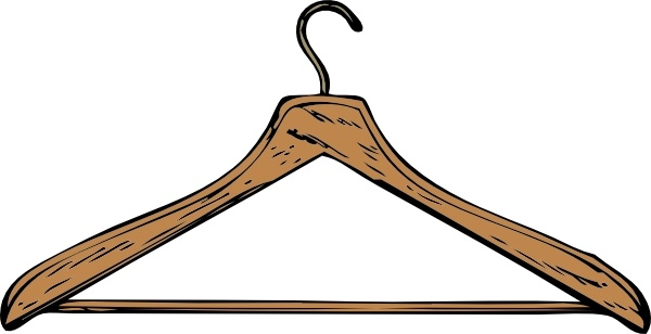 clipart free library Hanger clipart. Coat clip art free.