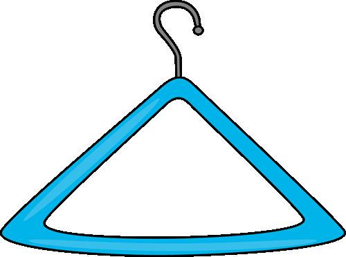 png Hanger clipart. Clip art image blue