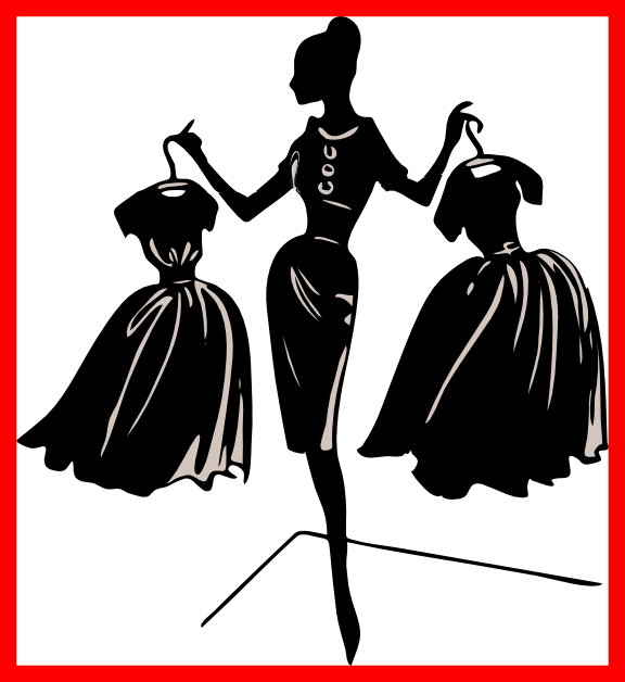 clip art black and white library Shocking Church Fashion Show Clip Art Clipart Collection For