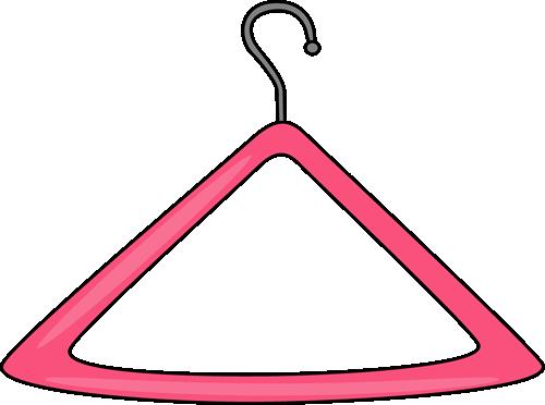 clipart transparent stock Clothes On Hanger Clipart