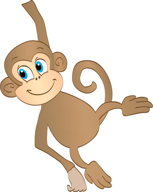 banner free library Free hanging monkey download. Ape clipart animated