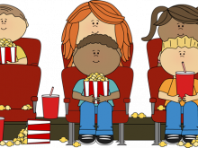 png free library Hanging out with clipart. Movie theater a vector