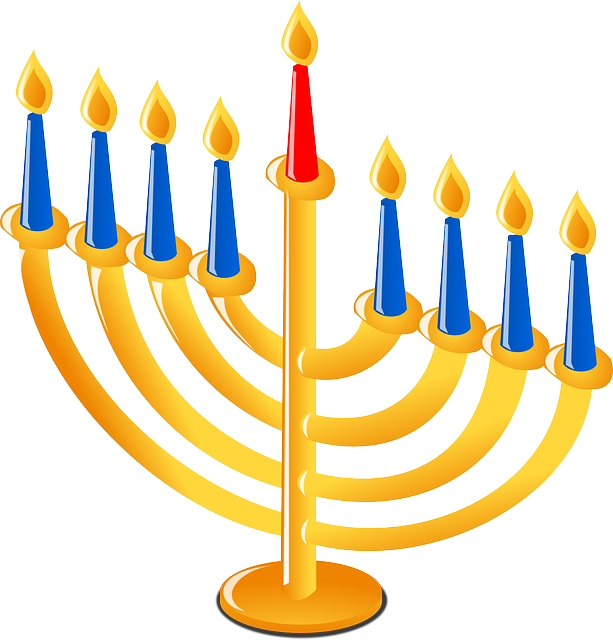 clip download hanukkah clipart first day #79583541