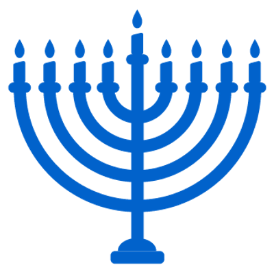 clip art free stock Happy Hanukkah Candles Sign transparent PNG