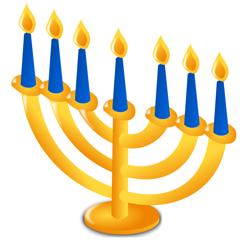 clip library stock Free hanukkah clipart animations. Menorah drawing easy