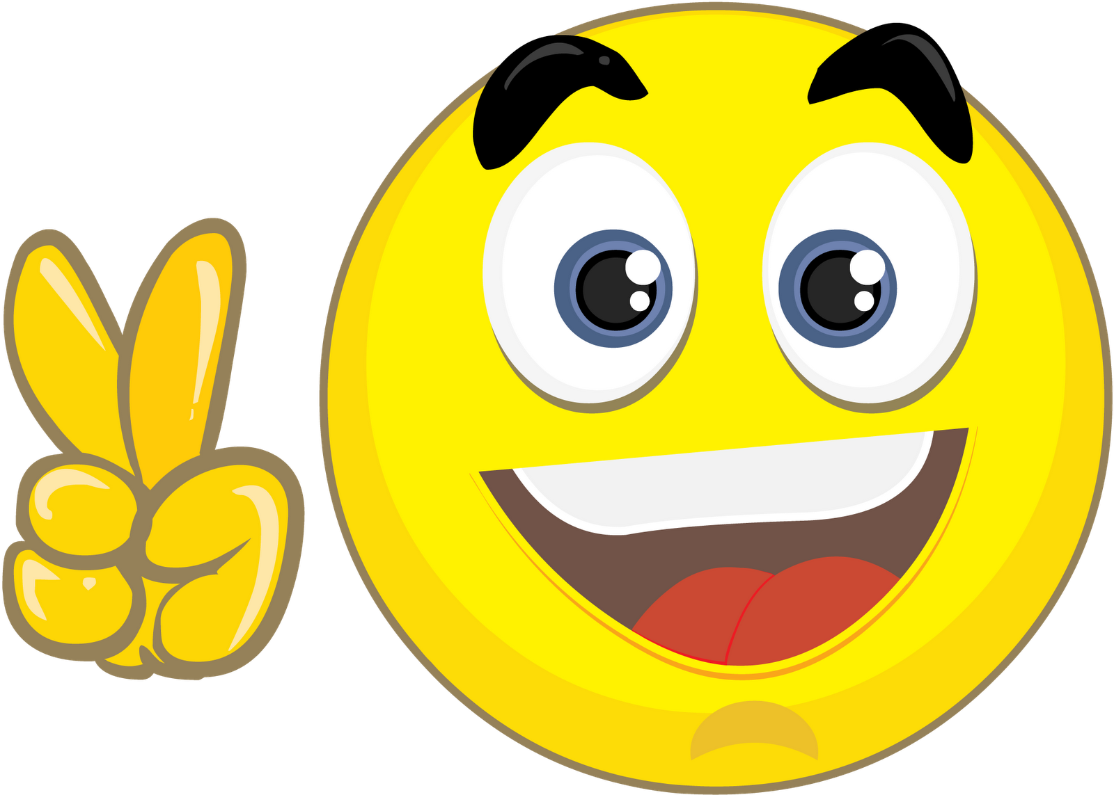 vector transparent library Emoticon smiley laughter joke. Happiness clipart applause