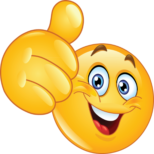 image freeuse library World smileys you can. Thumbs clipart middle emoji