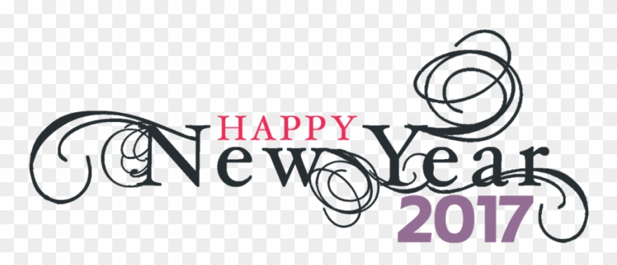 graphic black and white stock Happy 2017 clipart. Index of wp contentuploads