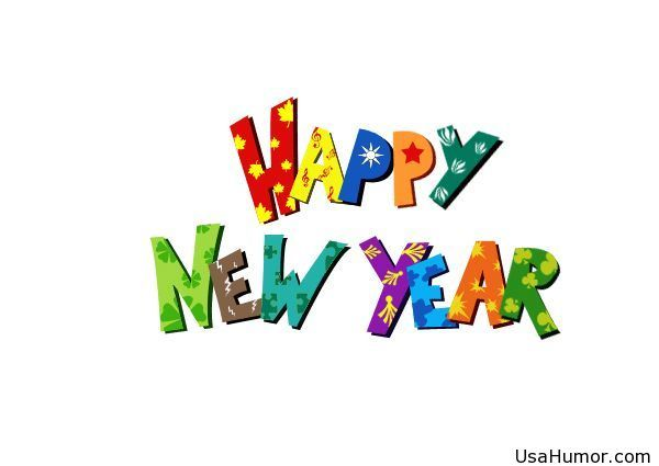 jpg library download New year for kids. Happy 2017 clipart