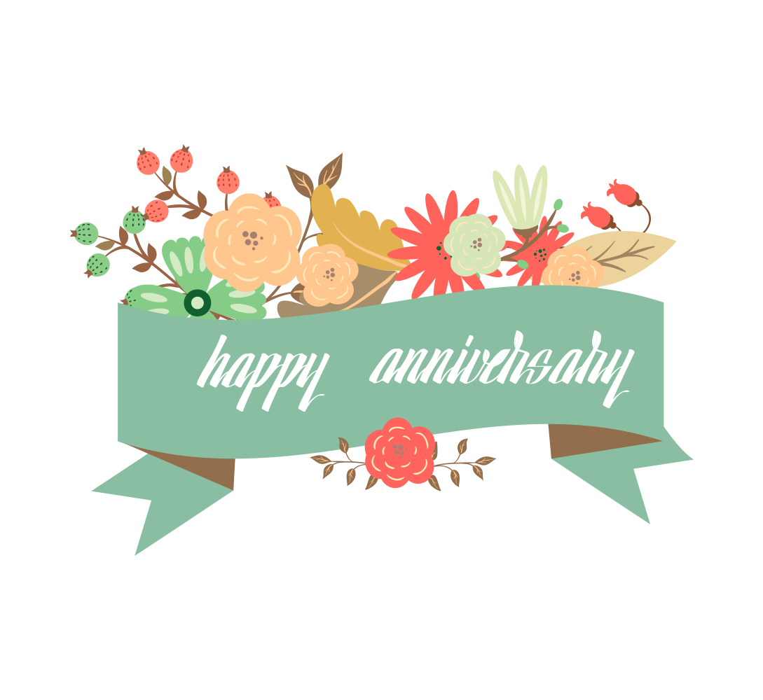 image royalty free stock Happy anniversary clipart free. Wedding greeting card transprent