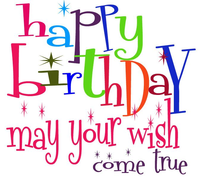 graphic download  free very cute. Happy birthday clipart for facebook