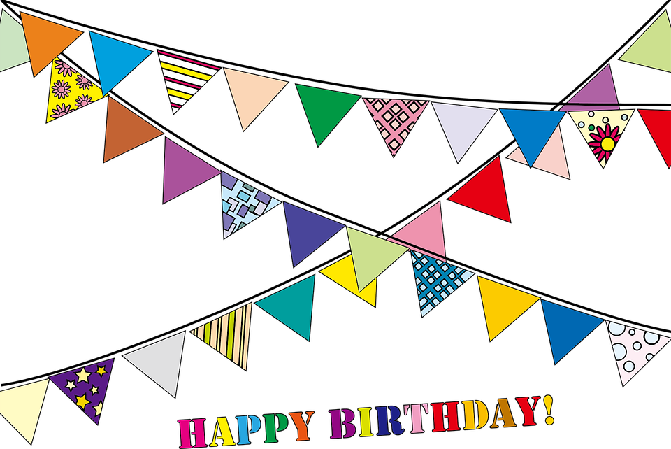svg transparent library Happy birthday clipart images. Shop of library buy