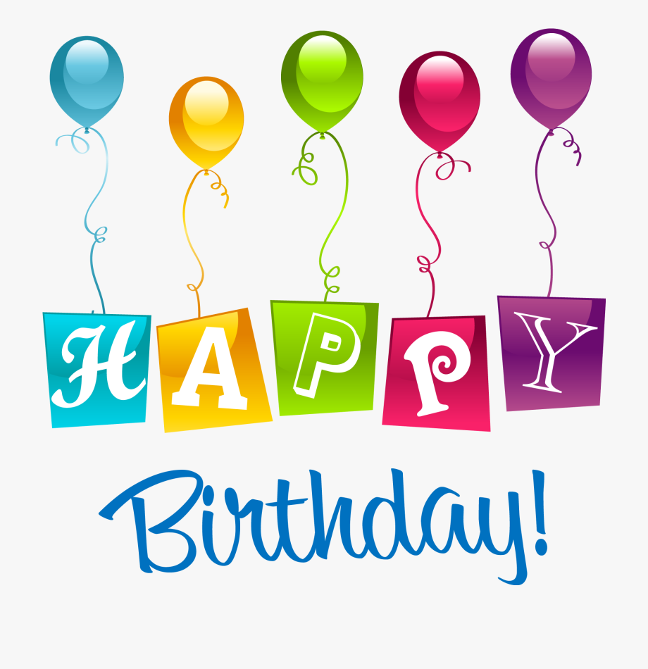 clip transparent library Happy birthday clipart images. Png