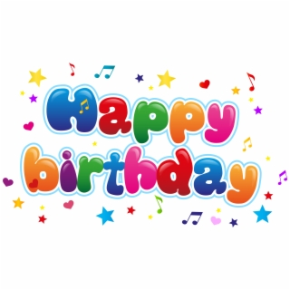 png free Png transparent . Happy birthday clipart images