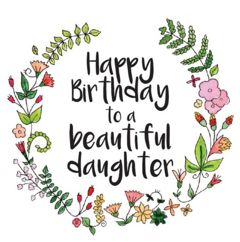 image freeuse Happy birthday daughter clipart. Station