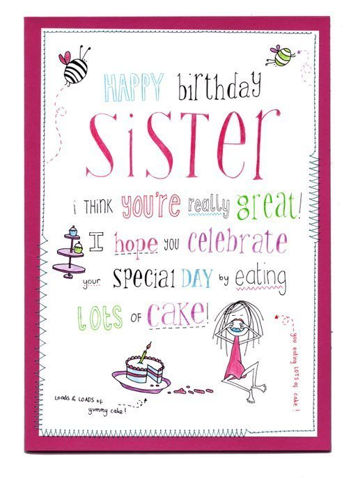 jpg library stock Happy birthday sister clipart. Free sisters cliparts download