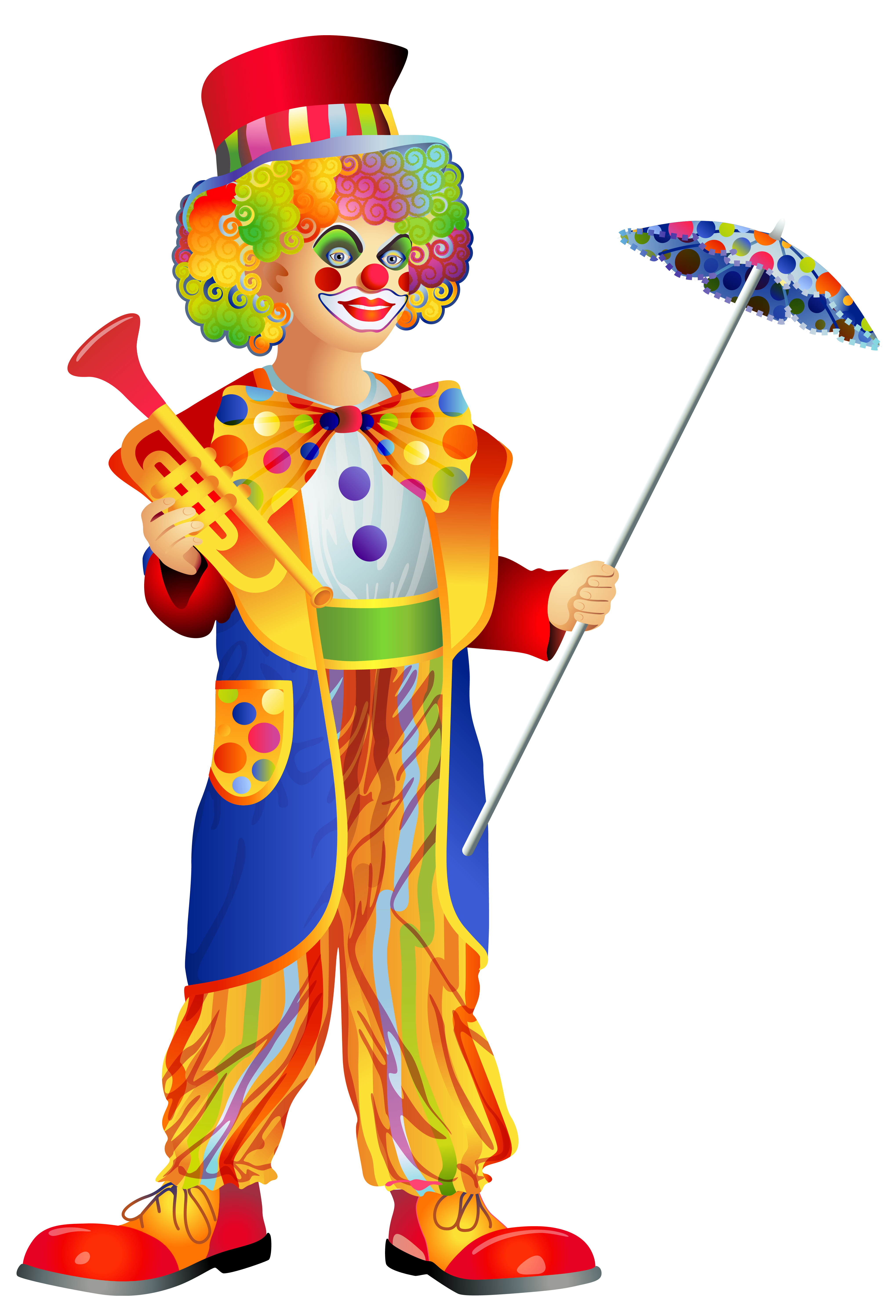 black and white download Png clip art image. Happy clown clipart