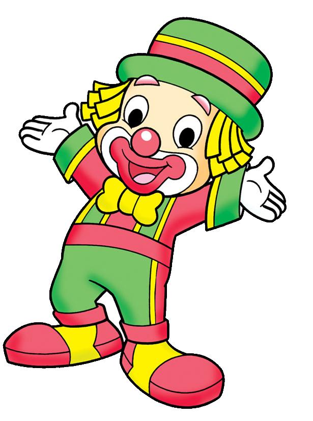 clipart stock Happy clown clipart. Patati patata png personagens